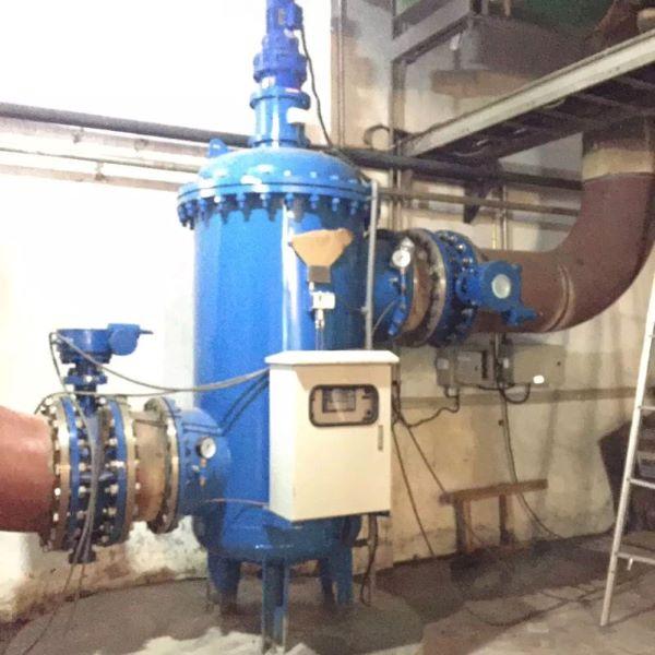 工业用水自动反冲洗过滤器案例现场